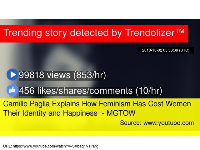 Camille Paglia Explains How Feminism Has Cost Women Their Identity